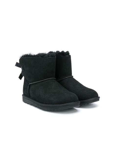 mini bailey bow UGG AUSTRALIA KIDS | Boots | UG1017397KBLKT
