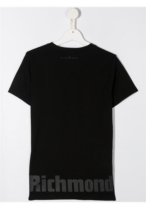 tshirt aibag con stampa scritta logo john richmond | T shirt | RBA20114TSW0148T