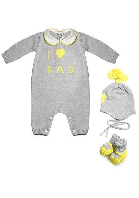 completo little bear dad con fluo LITTLE BEAR | Set tutina | 1127GR
