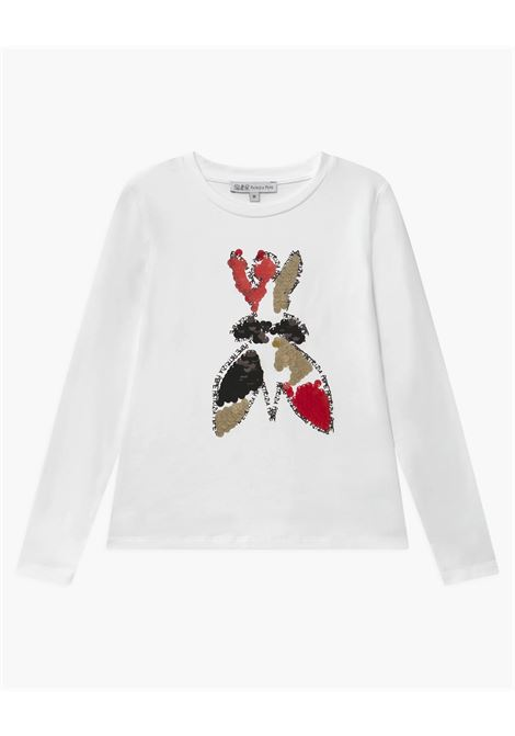 t-shirt con stampa logo  patrizia pepe Patrizia pepe kids   T shirt   TE291221R101