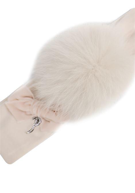fascia per capelli con pon pon in pelliccia Petit | Fascia capelli | 8514631T400083