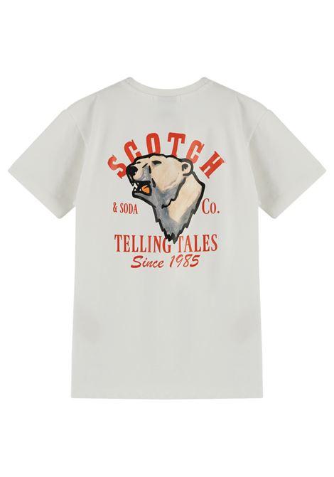 t shirt con stampa Scotch & soda | T shirt | 15775512120