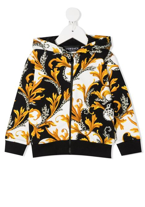 felpa aperta young versace stampata young versace | Felpa | YB000198A235741A7027