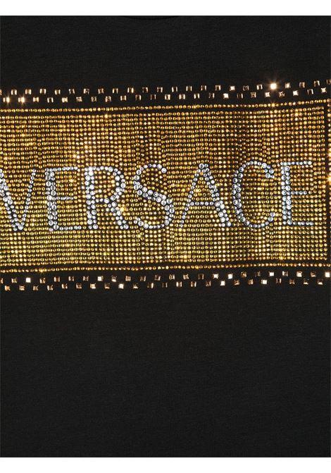 t-shirt logata young versace young versace | T shirt | YC000346YA00019A1008