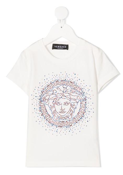 t-shirt young versace logata young versace | T shirt | YC000432YA00019A1002
