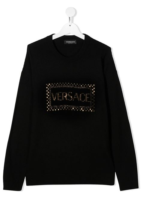 pull con logo young versace young versace | Pull | YC000449A236515A1008T