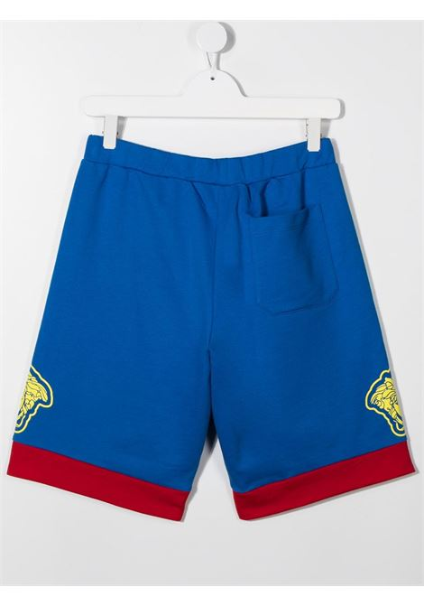 shorts con logo laterale young versace young versace | Shorts | YD000074YA00078A3362T