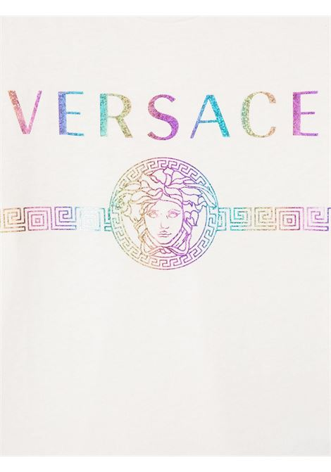 t-shirt young versace con logo multicolor young versace | T shirt | YD000275YA00079A1002