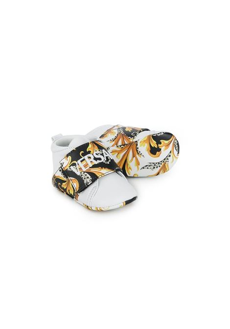sneakers con strappo young versace logate young versace | Sneakers | YFX00028YB00337YA42F