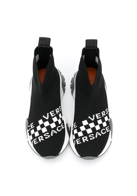 sneakers calzino young versace con logo young versace | Sneakers | YHX00038YB00352YSY9