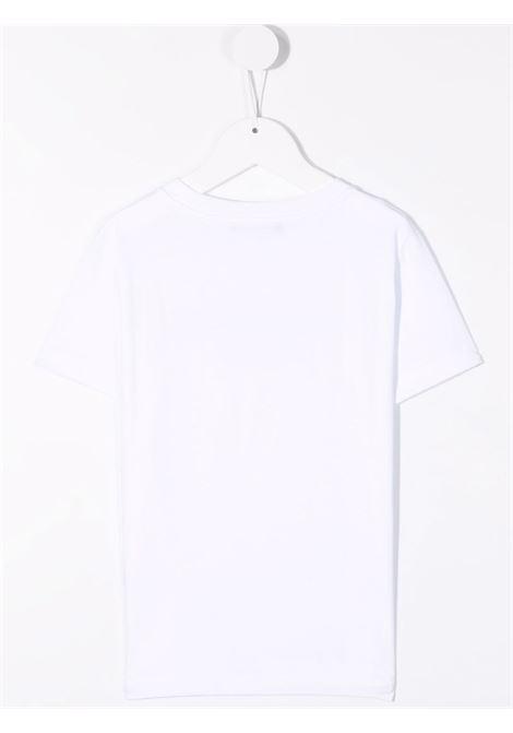 balmain  tshirt stampa logo Balmain | Tshirt | 6P8701Z0003100NE