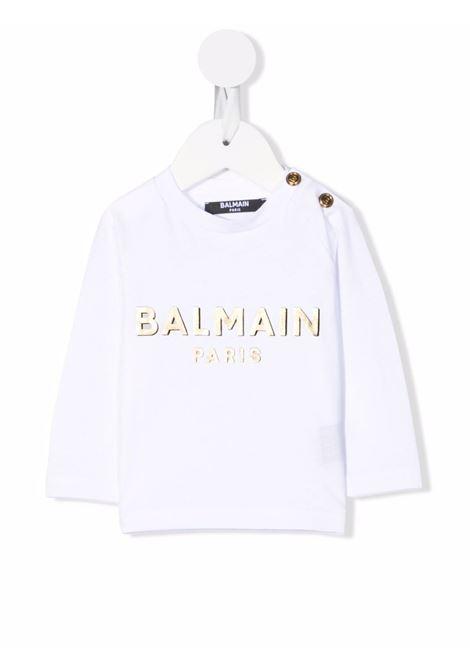 balmain Balmain | Tshirt | 6P8B20Z0003100OR