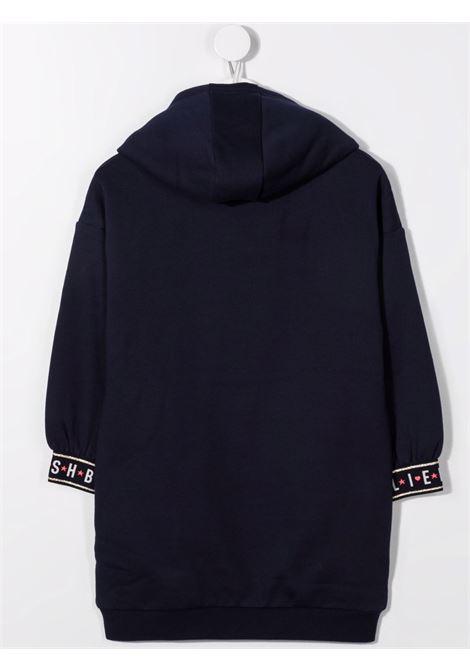 billieblush abito felpa con fiocco tulle fluo Billieblush | Abito | U1270685T