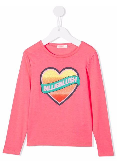 billieblush tshirt con cuore a rilievo Billieblush | Tshirt | U15924499