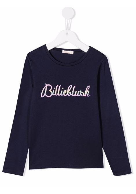 billieblush  tshirt con scritta logo a rilievo gommata multicolor Billieblush | Tshirt | U1594285T