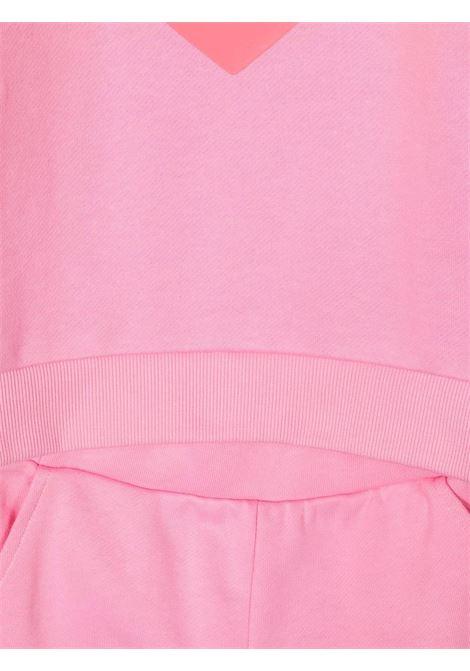 billieblush felpa con pantalone con cuore gommato Billieblush | Completo | U18124465