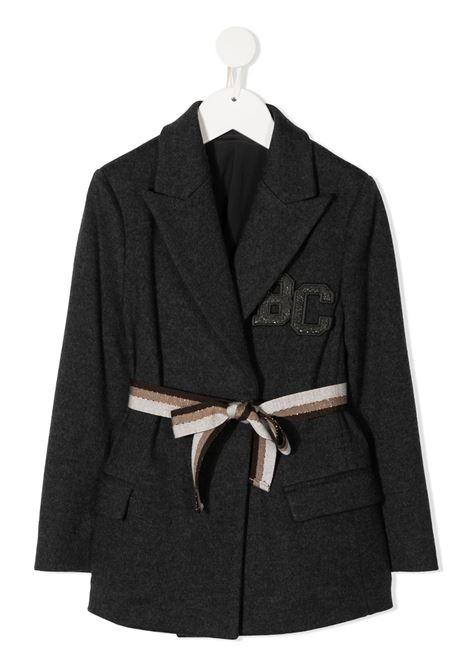 brunello cucinelli giacca in felpa con logo Brunello Cucinelli kids | Giacca | BB579K005C031