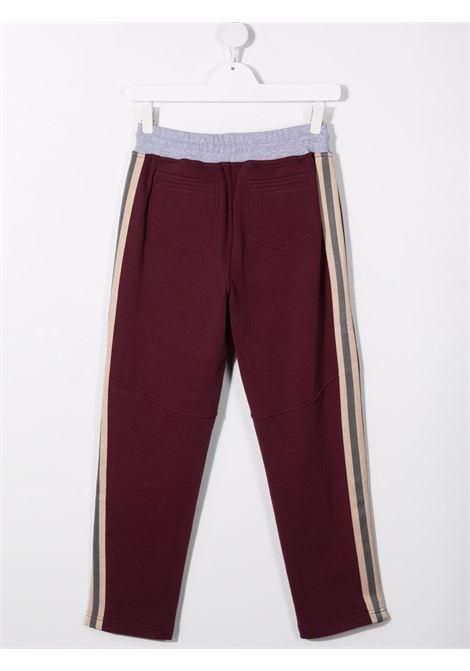 brunello cucinelli pantaloni in felpa  con banda laterale Brunello Cucinelli kids | Pantalone | BM810E306CW248T