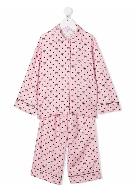 chiara ferragni pigiama logomania CHIARA FERRAGNI | Pigiama | 51850086270090