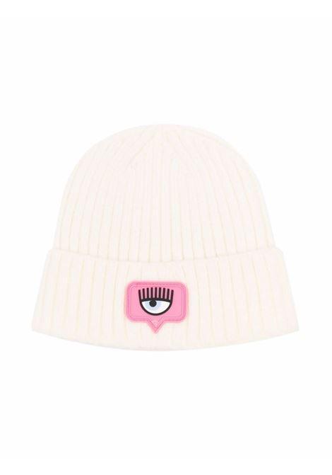chiara ferragni cappello con logo CHIARA FERRAGNI | Cappello | 59800587590001