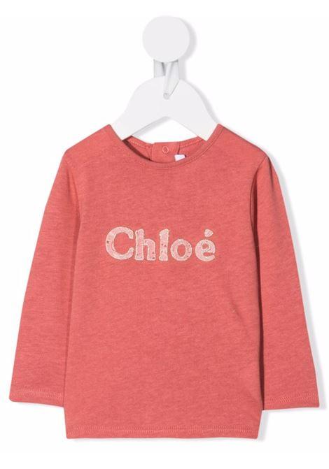 chloe tshirt con logo CHLOE' | Tshirt | C0539044V