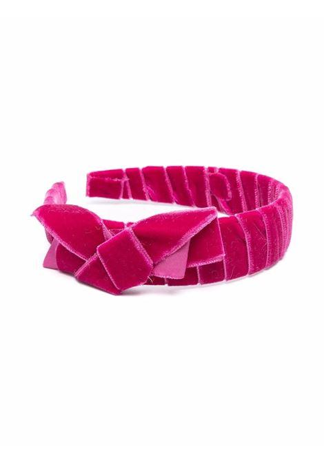 colori chiari cerchietto in velluto con fiocco Colorichiari | Cerchietto | FB945595AN052A83