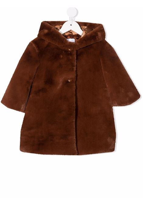 colori chiari cappotto cappuccio in ecopelliccia Colorichiari | Ecopelliccia | FN155540356148