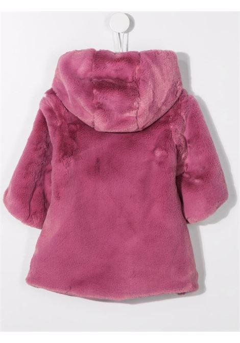 colori chiari cappotto cappuccio in ecopelliccia Colorichiari | Ecopelliccia | FN15554400583