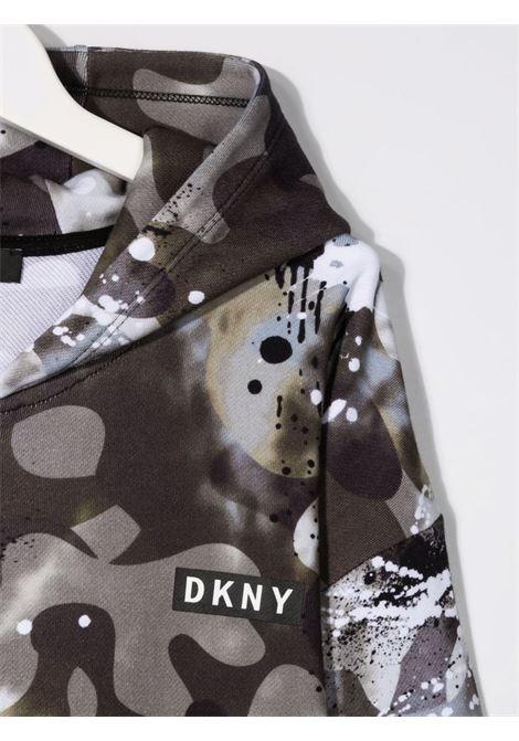 dkny felpa cappuccio DKNY | Felpa | D25D6264GT