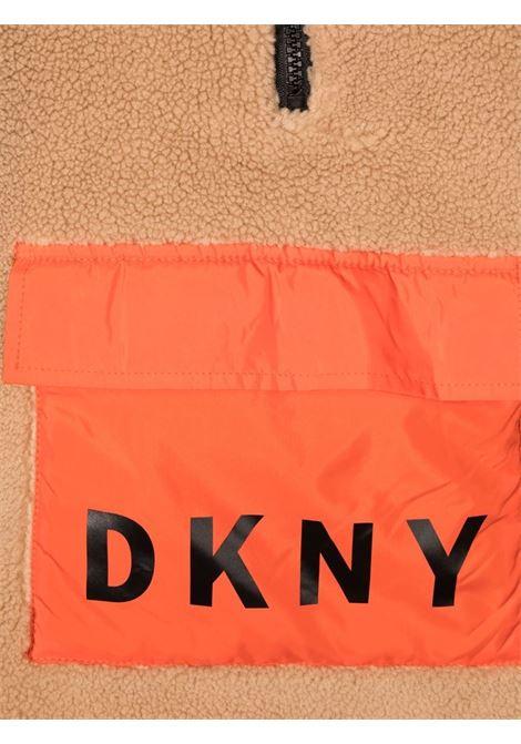 dkny giubbino orsetto e nylon DKNY | Giubbino | D26347269