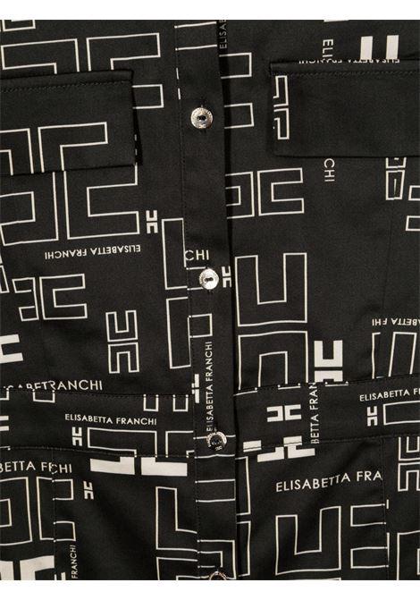 ELISABETTA FRANCHI | Dress | EFAB370RA94YE018N015