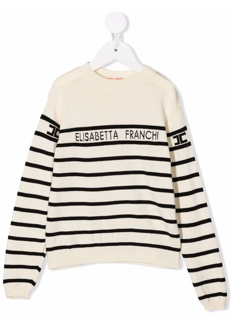 elisabetta franchi la mia bambina ELISABETTA FRANCHI | Maglia | EFMA82FL167YE001D001