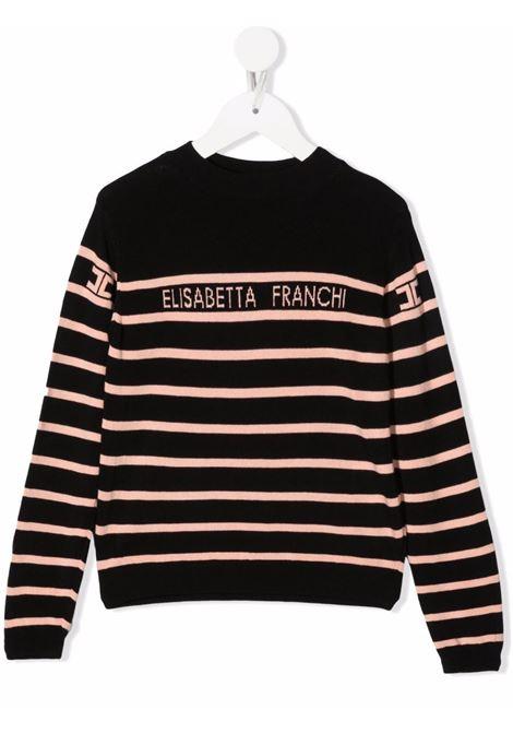 elisabetta franchi la mia bambina maglia logata ELISABETTA FRANCHI | Maglia | EFMA82FL167YE001D002
