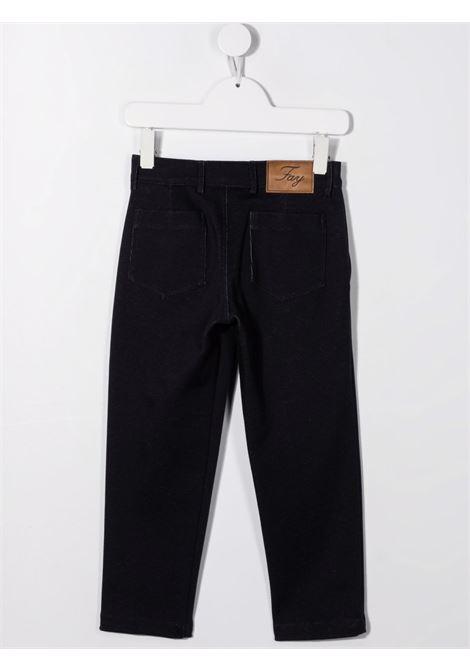 fay pantalone in tessuto elastico FAY | Pantalone | 5P6020J0041621