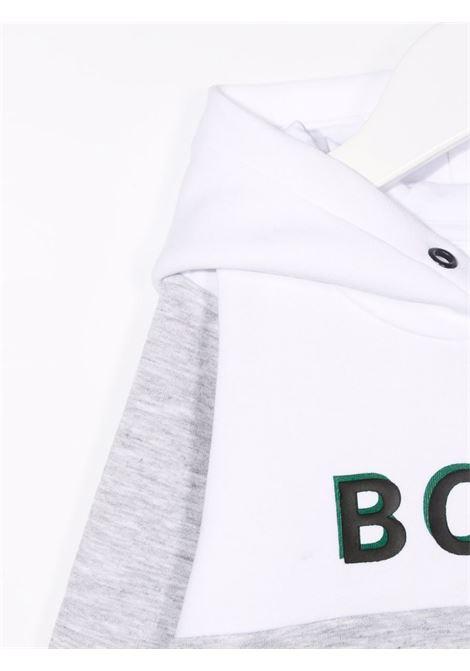 hugo boss  felpa cappuccio con scritta logo HUGO BOSS | Felpa | J05894A32