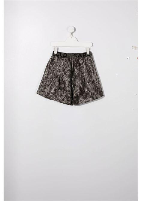 karl lagerfield shorts lurex KARL LAGERFELD KIDS | Shorts | Z14162M15T
