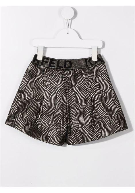 karl lagerfield shorts lurex KARL LAGERFELD KIDS | Shorts | Z14162M15