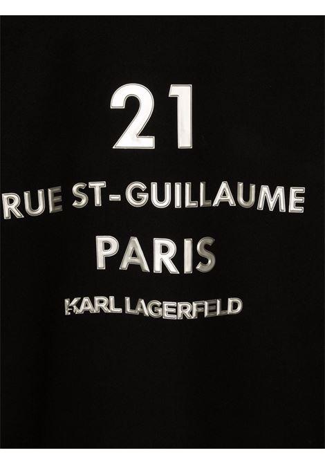 karl lagerfield felpa KARL LAGERFELD KIDS | Felpa | Z1534009BT