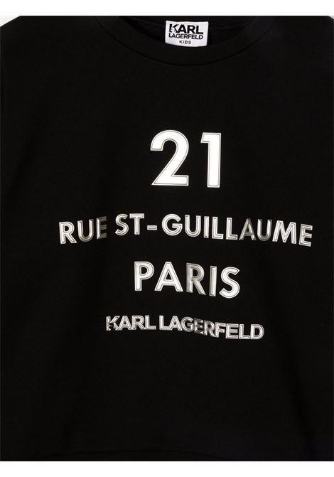 karl lagerfield felpa KARL LAGERFELD KIDS | Felpa | Z1534009B
