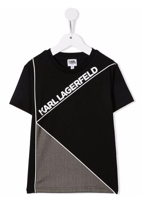 karl lagerfield  tshirt con stampa logo KARL LAGERFELD KIDS   Tshirt   Z2531209B