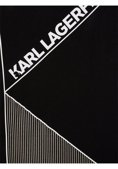 karl lagerfield  tshirt con stampa logo KARL LAGERFELD KIDS   Tshirt   Z2531209BT