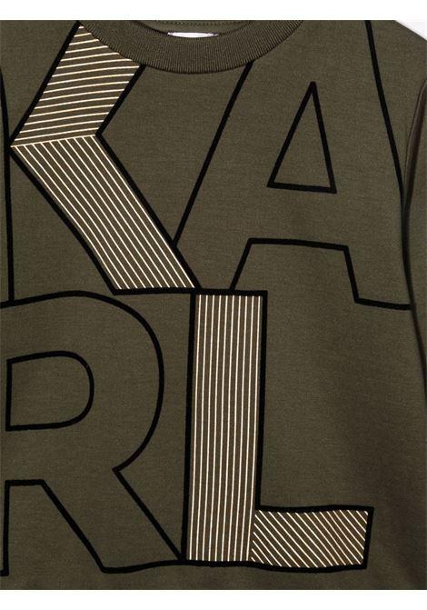 karl lagerfield felpa KARL LAGERFELD KIDS | Felpa | Z25321665
