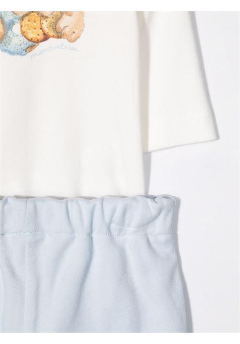 monnalisa pantalone rever con body MONNALISA BEBE | Completo | 22850080200158