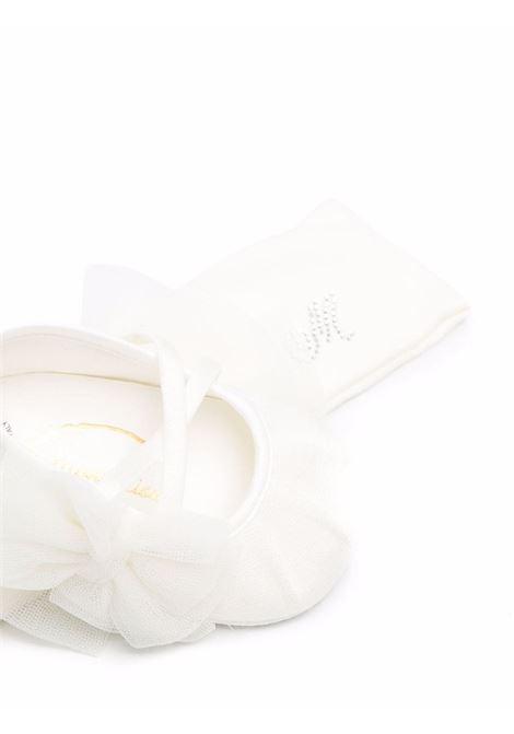 monnalisa fascia capelli con scarpine punto milano MONNALISA BEBE | Set accessori | 37800182070001