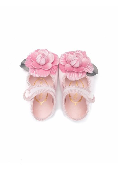 monnalisa ballerina punto milano con rosellina MONNALISA BEBE | Ballerina | 39800182070091