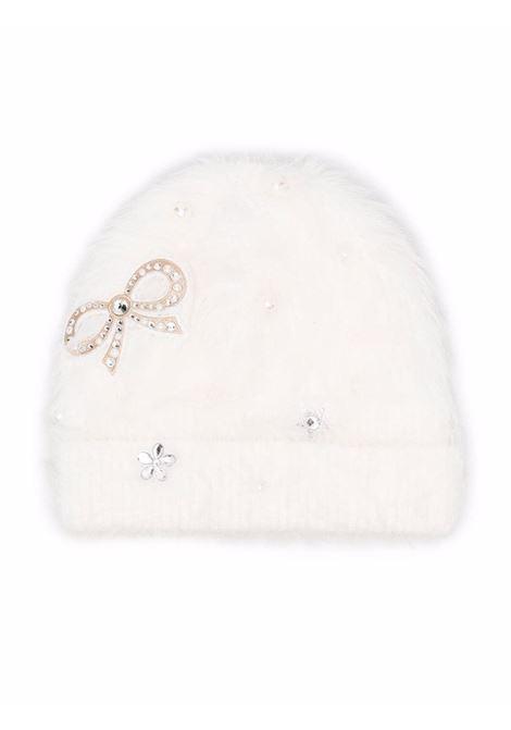 monnalisa cappello con fiocco perle MONNALISA | Cappello | 17800580870001