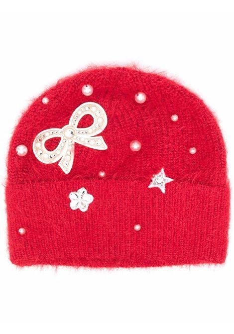 monnalisa cappello con fiocco perle MONNALISA | Cappello | 17800580870043