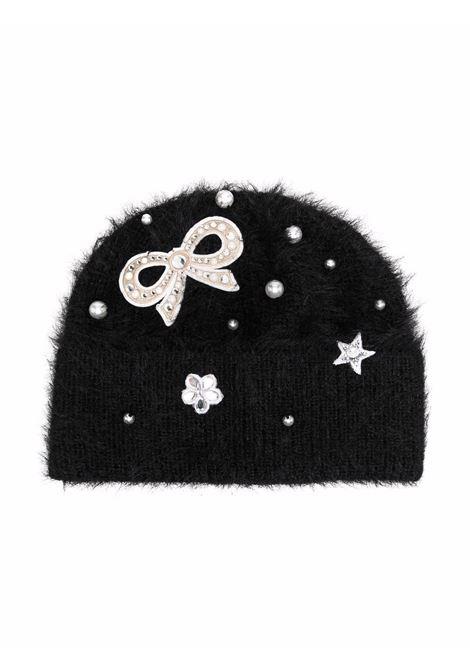 monnalisa cappello con fiocco perle MONNALISA | Cappello | 17800580870050