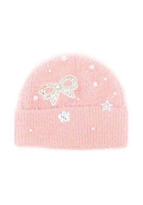 monnalisa cappello con fiocco perle MONNALISA | Cappello | 17800580870091