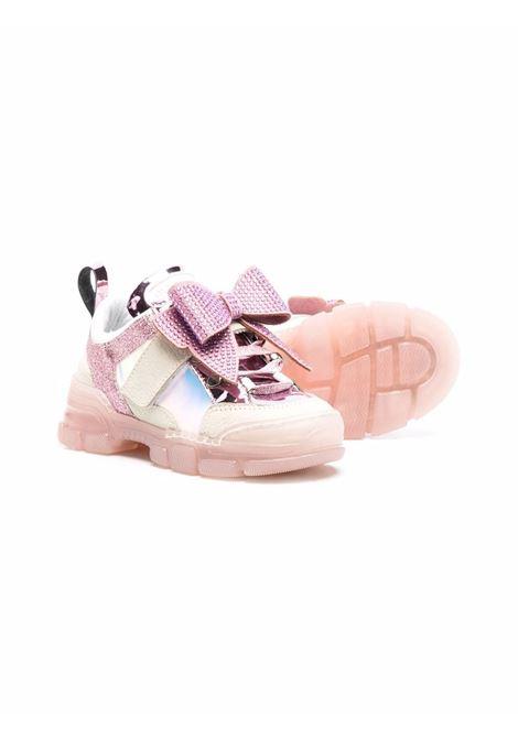 monnalisa sneakers con fiocco MONNALISA | Sneakers | 8C800387060091